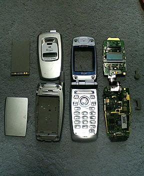 電子工作の館 3004-携帯電話1